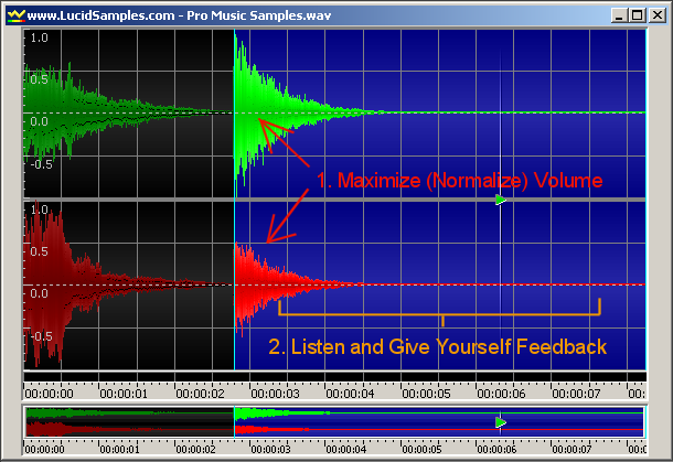 How to test noise reducer